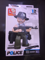Robber Mini Figure - B0586